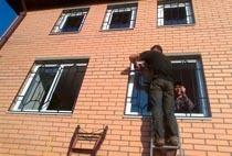 Монтаж решеток в Белово