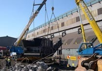 Демонтаж конструкций из металла в Белово
